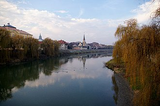 Lugoj - View from a bridge in Lugoj