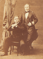 Luis, Duke of Oporto, and Prince Leopold of Hohenzollern (1861).png