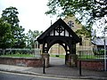 Lychgate, St Bartholomew Parish Church of Westhoughton - geograph.org.uk - 533749.jpg