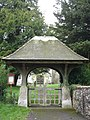 Lychgate in Gussage St Michael - geograph.org.uk - 276745.jpg
