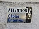 Lyon 7e - Plaque attention câbles enterrés (mars 2019).jpg