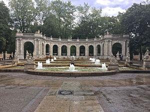 Volkspark Friedrichshain - The Märchenbrunnen in Volkspark Friedrichshain, as it appears today.