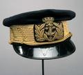 Mössa till amiralsuniform (Oscar II) - Livrustkammaren - 56737.tif