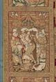 MCC-21687 Rode koorkap met de doop van Christus, scènes uit het leven van Johannes de Doper en H. Cyriacus (6).tif