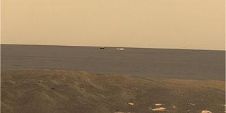 Meridiani Planum - Image: MER B Descent Stage med