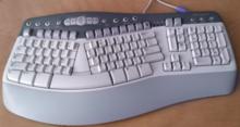microsoft natural keyboard wikipedia rh en wikipedia org Microsoft Multimedia Keyboard Software Microsoft Natural Multimedia Keyboard Drivers