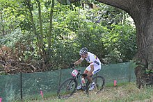 MTB cycling 2012 Olympics M cross-country COL Hector Páez.jpg