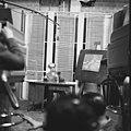 MTV stúdió, 1967, Öveges József professzor, Fortepan 56514.jpg