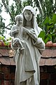 Madonna and Child Statue outside Saint Florian's Cathedral, Warsaw.jpg