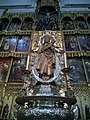 Madrid Calle De Bailen Catedral De La Almudena Transept Droit Statue Virgen De La Almudena - panoramio.jpg