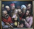 Maestro HB con la testa di grifone, cristo benedice i fanciulli, sassonia 1530-1550 ca. 02.JPG