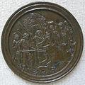 Maestro della leggenda di orfeo, melagro uccide il cinghiale calidonio, 1500-1525 ca..JPG