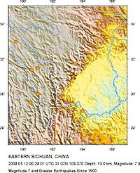 Magnitude 7.9 EASTERN SICHUAN, CHINA - 2008 Historic Seismicity.jpg