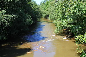 Mahanoy Creek - Mahanoy Creek in East Cameron Township