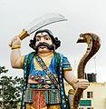 Mahishasura statue at Chamundi hills.jpg