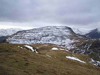 Maiden Moor mountain in United Kingdom