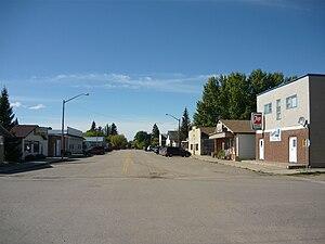 Langham, Saskatchewan - Main Street