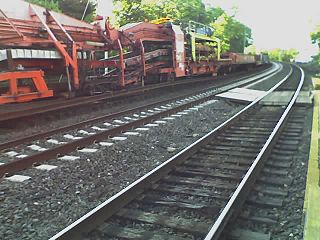 Track renewal train