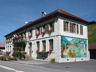 Entremont, Haute-Savoie - Entremont city hall