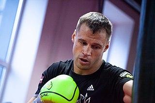 Mairis Briedis Latvian boxer