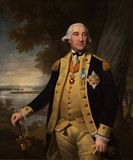 Painting Steuben in uniform