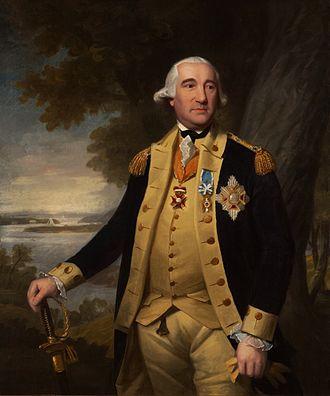 Friedrich Wilhelm von Steuben - Portrait of Steuben by Ralph Earl
