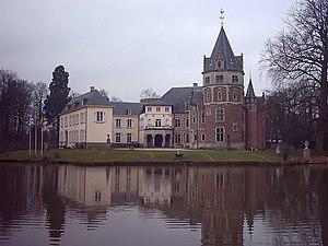 Renesse Castle - Front view of the Castle de Renesse