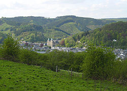 Malmedy from the south