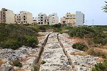 Malta - St. Paul's Bay - Xemxija Heritage Trail - Raddet ir-Roti Cart Ruts 07 ies.jpg