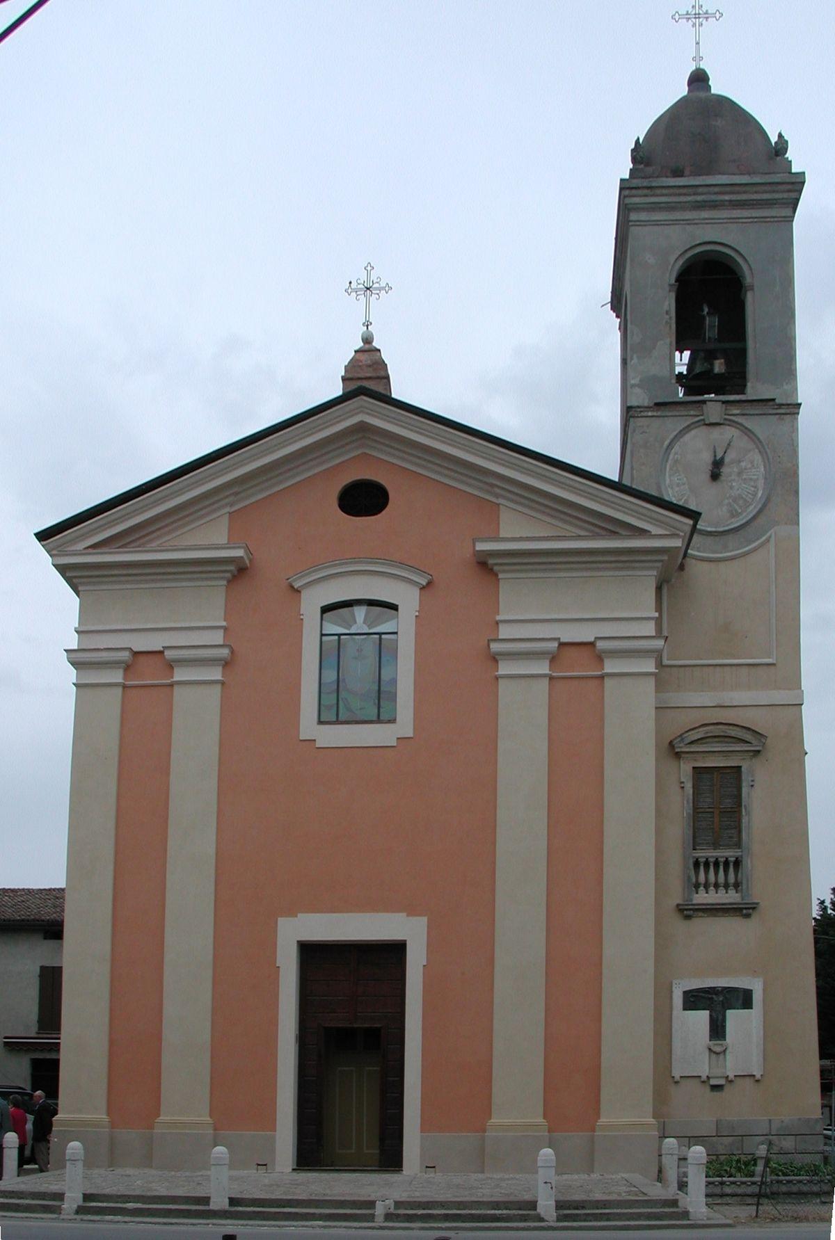 Chiesa di san silvestro mancasale wikipedia - San silvestro bagno di romagna ...