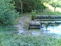 Manchester bolton and bury canal dammed at Nob End.jpg
