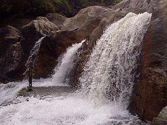 Manimuthar River (tributary of Thamirabarani) - Manimuthar Falls