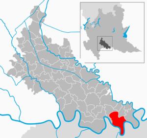 Caselle Landi - Image: Map IT Lodi Caselle Landi