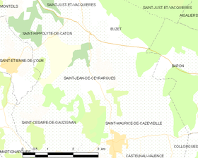 Map commune FR insee code 30264.png