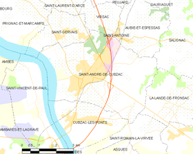 Map commune FR insee code 33366.png