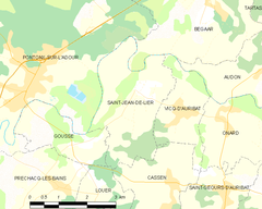 Map commune FR insee code 40263.png
