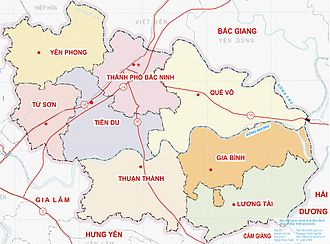 Bắc Ninh Province - Administration divisions