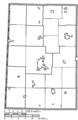 Map of Darke County Ohio Highlighting Ithaca Village.png