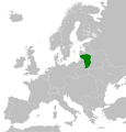 Map of the Kingdom of Lithuania Wikipedia.png