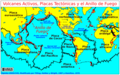 Map plate tectonics world.es.png