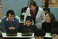 María Eugenia Vidal con alumnos beneficiados por el Plan Sarmiento (7489592378).jpg