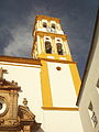 Marbella cathedral bell tower.JPG