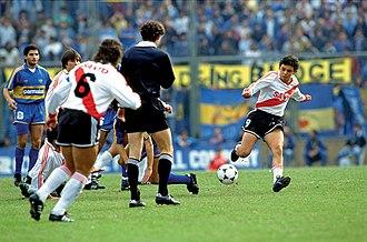 Marcelo Gallardo - Marcelo Gallardo in 1993.