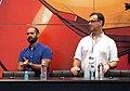 Marco Ramirez, Doug Petrie Daredevil Signing NYCC 2015.jpg