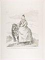 Margaret of Austria on horseback, after Velázquez MET DP818188.jpg