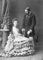 Maria Alexandrovna and Prince Alfred. engagement photograph.png