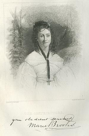 Maria Gowen Brooks - Image: Maria Brooks Library Company lg
