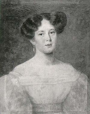 Duchess Maria Dorothea of Württemberg - Maria Dorothea in 1818.
