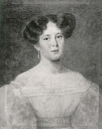 Duchess Maria Dorothea of Württemberg - Maria Dorothea in 1818.