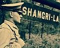 Marine Corps guard at Shangri-La (later Camp David) on May 7, 1944 - 208-PU-Folder 3 (29265928051) (cropped).jpg